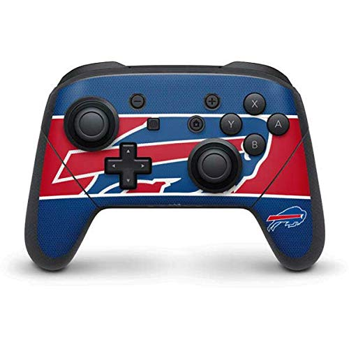 Skinit Buffalo Bills Zone Block Nintendo Switch Pro Controller Skin - Officially Licensed NFL Gaming Decal - Ultra Thin, Lightweight Vinyl Decal Protection