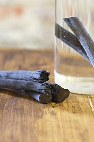 Sticks Charcoal (Kishu Binchotan Charcoal Slim Personal Sticks, 6 Sticks of Water Filter)