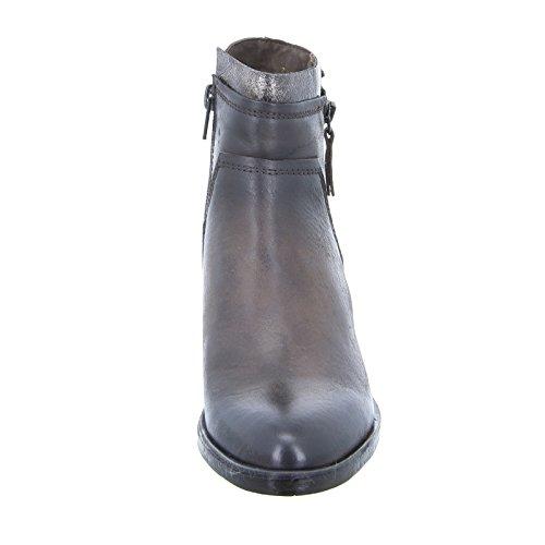 Boxx 65.253 Damen Stiefelette Ankle Boots Leder Braun