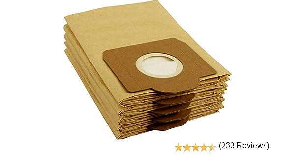 10 bolsas para aspiradora Kärcher WD 3 Premium: Amazon.es: Hogar