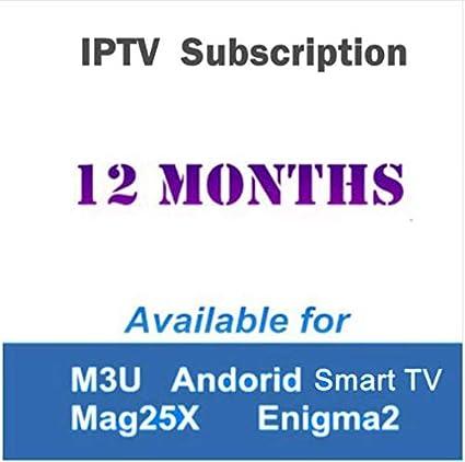 Amazon com: Pukido Europe IPTV Arabic IPTV French IPTV
