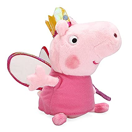 Crown Peppa Pig Plush Doll Toy