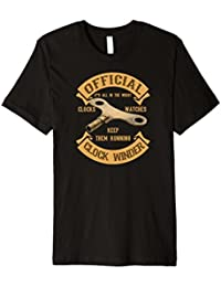 Official Clock Winder Clock Collector T-Shirt