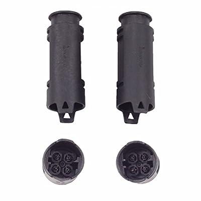 MOSTPLUS 234-5107 234-4672 234-4683 O2 Oxygen Sensor Upstream & Downstream for BMW 323i 330i 525i 530i X3 X5 Z3 Z4 (Set of 4): Automotive