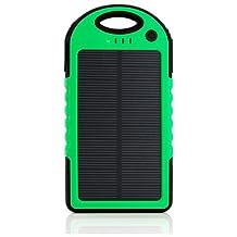 Gearonic Waterproof Solar Power Bank-Green