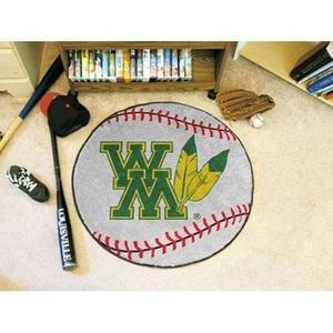 College of William & Mary Baseball Rug