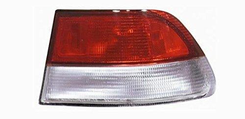 Tail Honda Tyc Civic Coupe - TYC 11-5237-91 Honda Civic Passenger Side Replacement Tail Light Assembly
