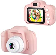 """Dartwood 1080p Digital Camera for Kids with 2"""" Color Display Screen and Micro-SD Card Slot for Children ("""
