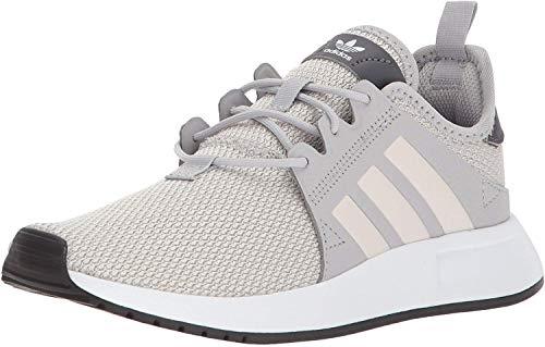 adidas Originals Boys' X_PLR J Running Shoe, Grey Two/Orchid Tint/White, 7 M US Big Kid