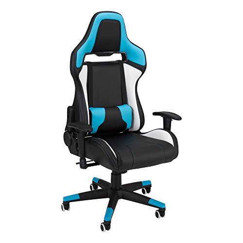 41i0XrJ9zNL - Commander-Racing-Style-Gaming-Chair-by-SkyLab-Performance-Seating-FC-BlueWhiteBlack