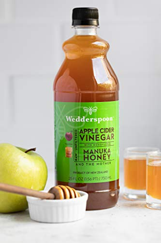 Wedderspoon Apple Cider Vinegar With Monofloral Manuka Honey & The Mother, 25 fl oz 4