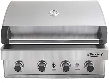 Turbo 4 Burner Built Gas Grill