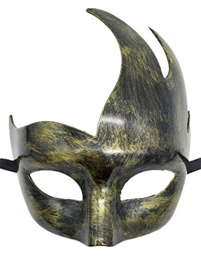 Men's Masquerade Mask Vintage Venetian Party Mask Antique Halloween Costumes Mardi Gras Mask (Antique -