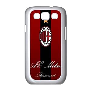 Samsung Galaxy S3 9300 Case White Ac Milan Cell Phone Case Cover K9S8SX