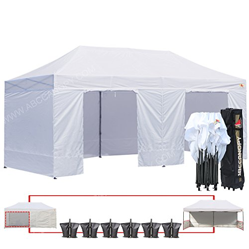 (18+ colors)Abccanopy Deluxe 10x20 Pop up Canopy Outdoor ...