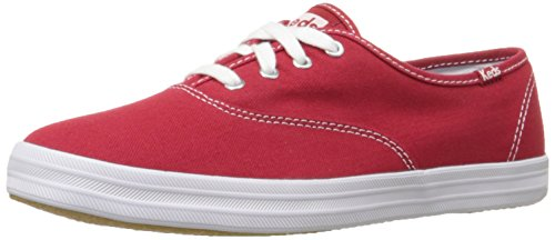 Keds Champion Core Text-Navy, Chaussures de Gymnastique Femme - Rouge - Rosso(Rot), 41 EU EU