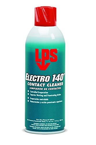 Lps Electro Contact Cleaner - LPS Electro 140° Contact Cleaner, 11 oz Aerosol (Pack of 12)