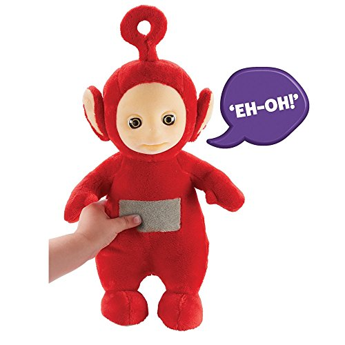 Teletubbies 06107 Cbeebies Talking Po Soft Toy (Red) -