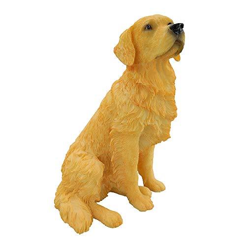 Artgenius Golden Retriever Figurine 7 - Retriever Golden Dog Statue