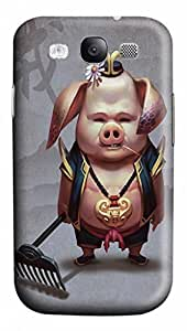 3D PC Durable Back Protective Hard Plastic Shell Skin For Case Iphone 6Plus 5.5inch Cover Mr. Pig