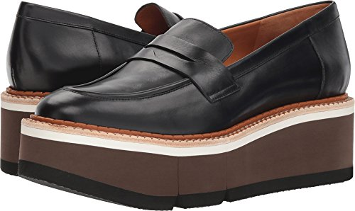 Clergerie Women's Benedict Black Leather Calf 36 M EU