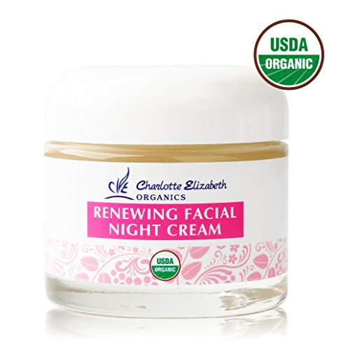 Charlotte Elizabeth Organics USDA Certified Organic Renewing Facial Night Cream