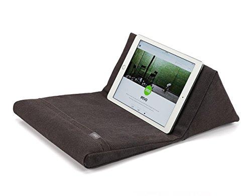 IPEVO PadPillow Pillow Stand for the new iPad 3 & iPad 2 & iPad 1 - Charcoal Gray by Ipevo