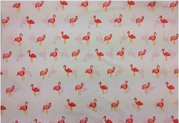 Pink Flamingos  Size STANDARD Boys Girls Kids Bedding