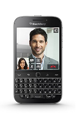 BlackBerry Classic UK SIM-Free 4G Smartphone (QWERTY Keyboard) - Black