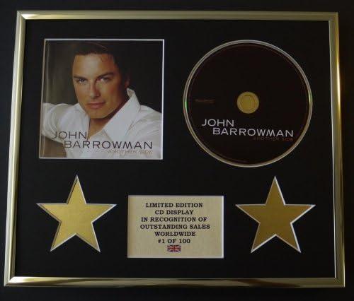 JOHN BARROWMAN//CD DISPLAY//LIMITED EDITION//COA//ANOTHER SIDE
