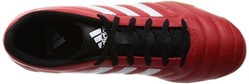 adidas Gloro 16.2 In, Zapatillas de Running para Hombre Rojo / Blanco / Negro (Rojint / Ftwbla / Negbas)