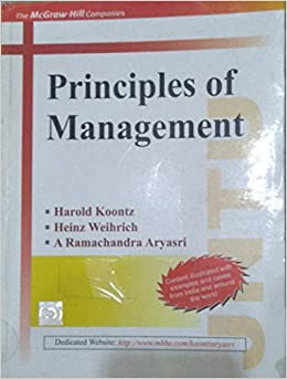 Amazon in: Buy Principles Of Management Book Online at Low Prices in