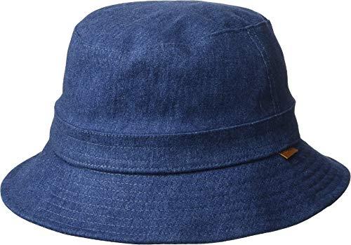 (Kangol Men's Quilted Denim Hunter Bucket HAT, Indigo, M)