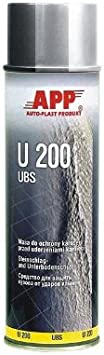 Unterbodenschutz 500ml App Spray Schwarz Auto