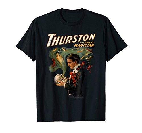 Vintage Magic THURSTON Poster Stage Magician ()