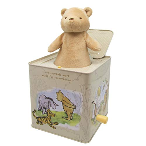 Disney Baby Classic Winnie The Pooh Jack-in-The-Box - Musical Toy for ()