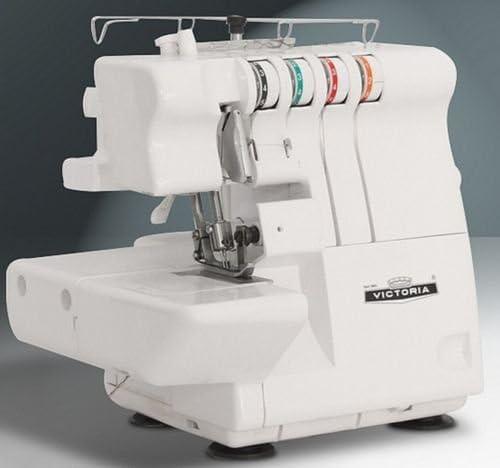 Victoria Overlock + coser brazo libre 2 – 3 de 4 hilos, Nuevo ...