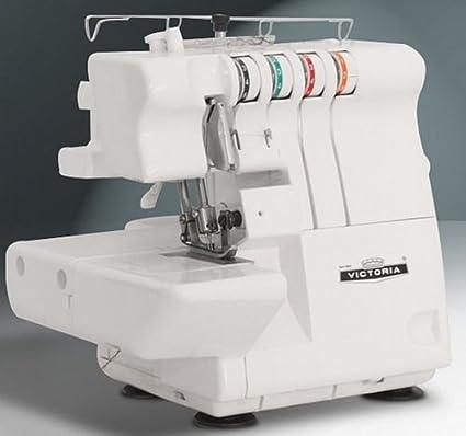 Victoria Overlock + coser brazo libre 2 – 3 de 4 hilos, Nuevo