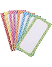 SOLUSTRE 16pcs Magnetic Dry Erase Labels Magnetic Notepads Fridge Name Plate Tags Magnetic Label Stickers for Whiteboards Refrigerator