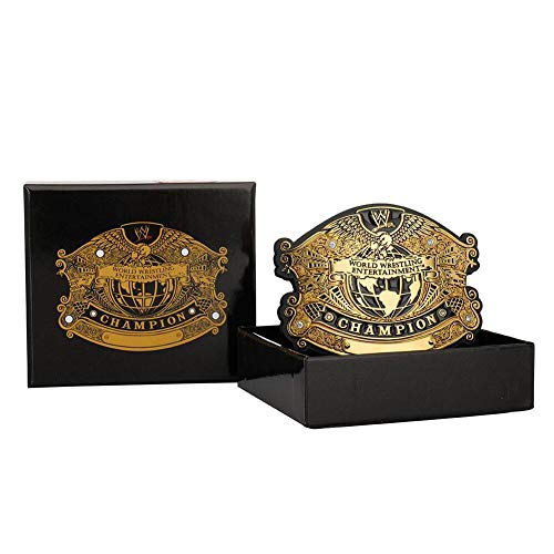 WWE Undisputed Championship Belt Buckle Gold
