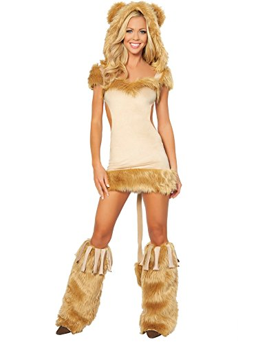 Courageous Lioness Adult Costume - Small - Roma Courageous Lioness Costume