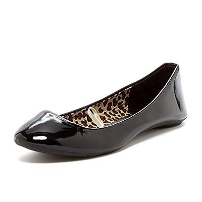 Charles Albert Women's Cobra Patent Slip-On Ballet Flat   Flats