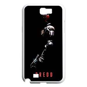 DIY Printed Dredd hard plastic case skin cover For Samsung Galaxy Note 2 N7100 SNQ342452