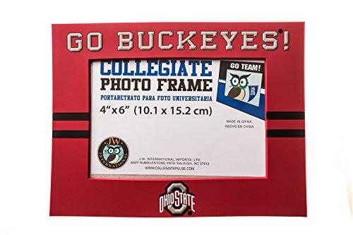 Ncaa Picture Frame (OHIO STATE BUCKEYES NCAA PVC PHOTO FRAME)