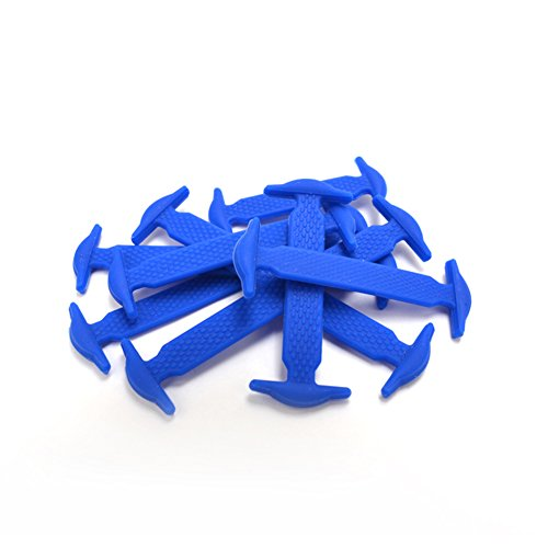 Schoenveters In Vetersluiting Zonder Sluiting Anker Type 13 Kleuren Blauw
