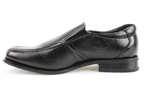 Bb & W Heren M1806 Casual Schoenen Met Instappers Loafers Zwart