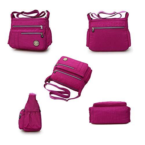 Leggero Borsa Da Bag Messenger Sacchetto 6066 Scuola f Design Libri Borsello Sport F Tasca Exull Gdlxl Tracolla Borse Viaggio A Spalla Moda Borsetta Sportiva Donna 1wxTqT8a7