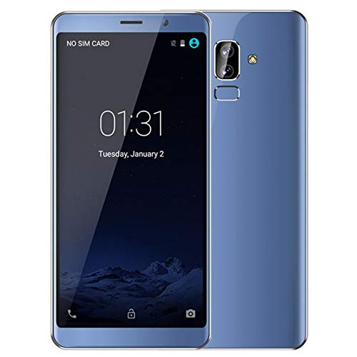Mb 512 Abs Computer - Haihuic Unlocked 3G Smartphone, 6.0 inch HD Screen Android 5.1 512MB RAM 4GB ROM Dual SIM Slots Dual Camera Face ID WiFi GPS Bluetooth Blue