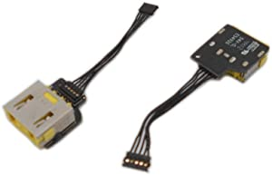 Cables for Lenovo IdeaPad Yoga 11 11S Power Jack Socket Connector Board Charging Port DC in Cable - (Cable Length: Other, Color: 1 Piece)