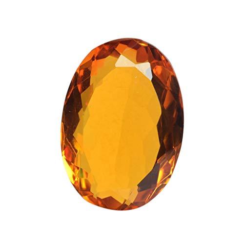 Citrine 125.50 Ct Oval Cut Yellow Citrine, Jewelry Making Brazilian Citrine Gemstone for Pendant